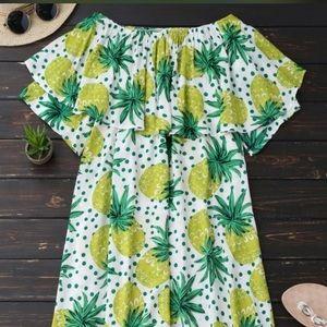 Dresses & Skirts - 🍍Off the Shoulder Dress or Coverup
